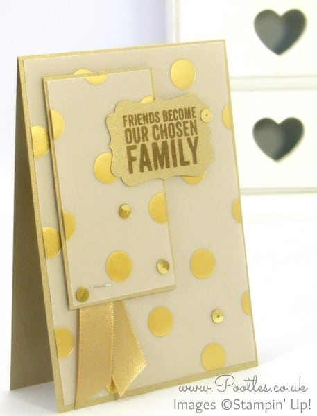 Stampin' Up! UK Golden Family Painted Petals