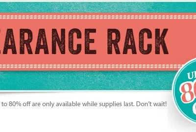 Stampin' Up! Clearance Rack has been UPDATED!