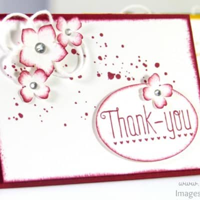 A7 Thank You Cards – Adorable!