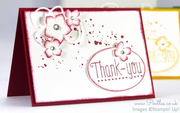 A7 Thank You Cards - Adorable!