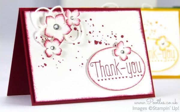A7 Thank You Cards - Adorable!