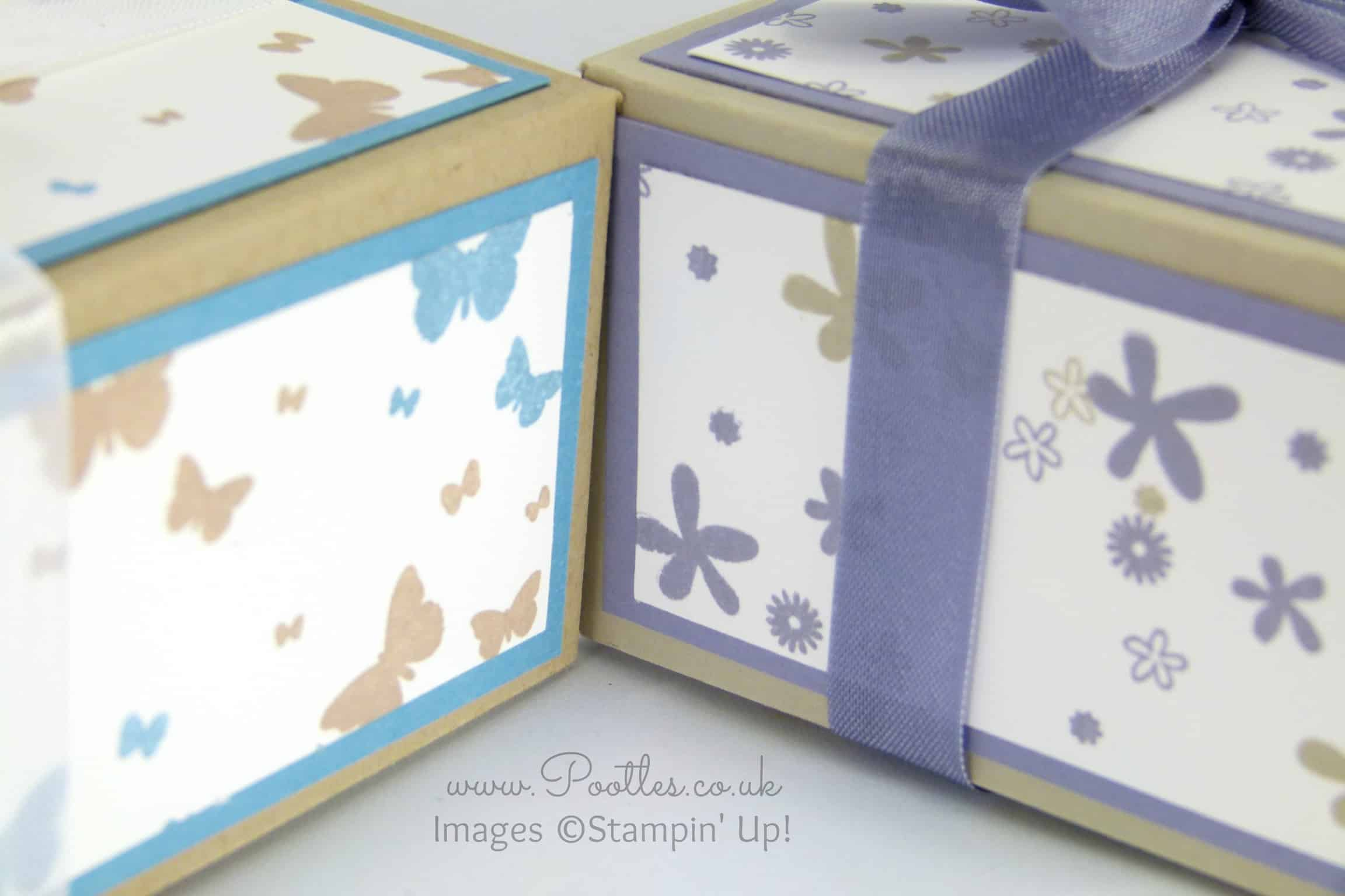 Perpetual Birthday Calendar Hand Stamped Box Tutorial