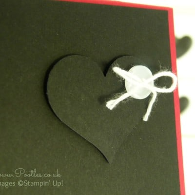 Heart Card with Stampin' Up! and Project Life!