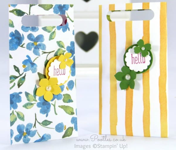 Pootles' May Stampin' Up! Thank You Gifts Tutorial