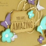 Quirky Colours from Stampin' Up! Cardstock