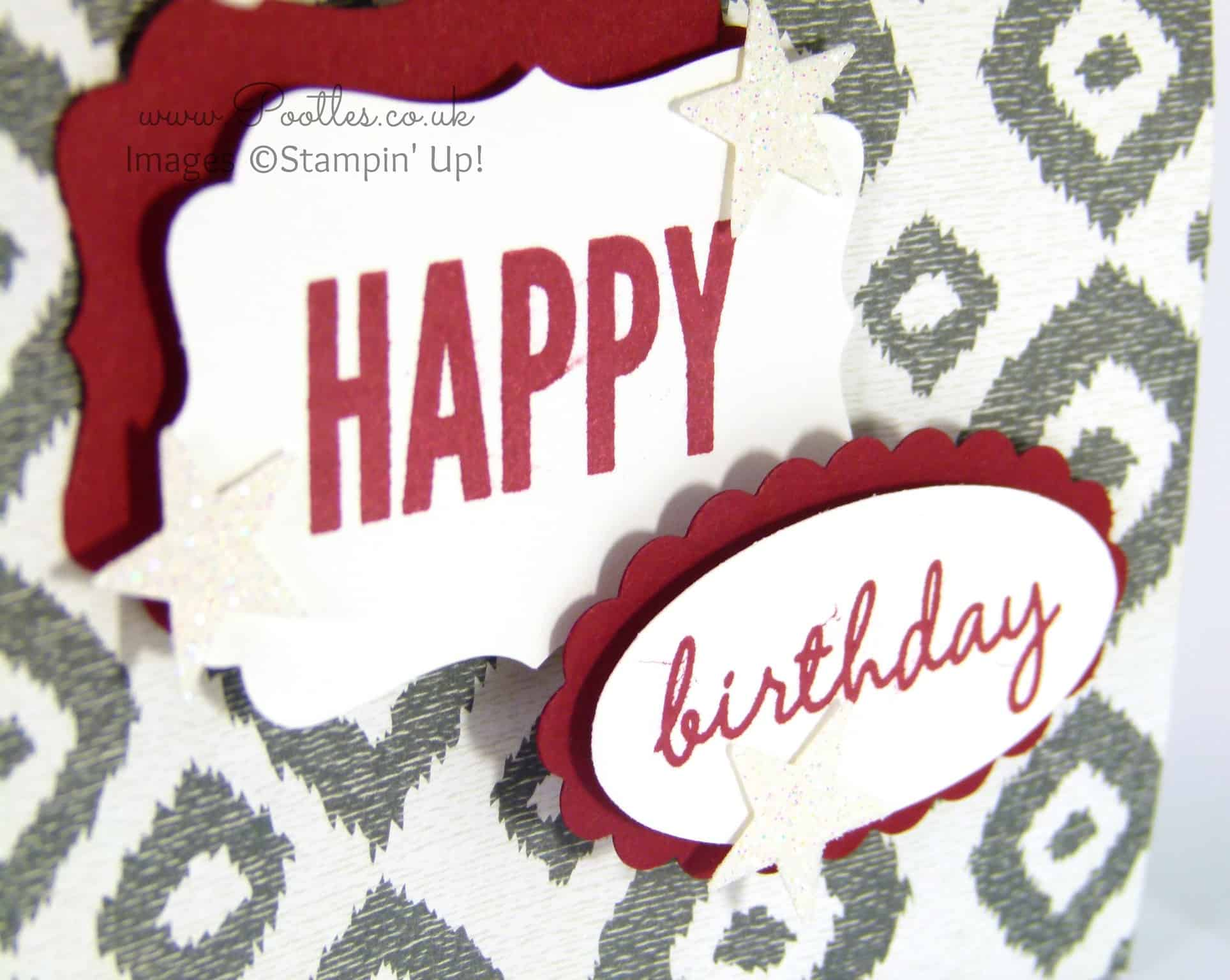 Stampin' Up! Sweet Dreams DSP Gift Bag Tutorial