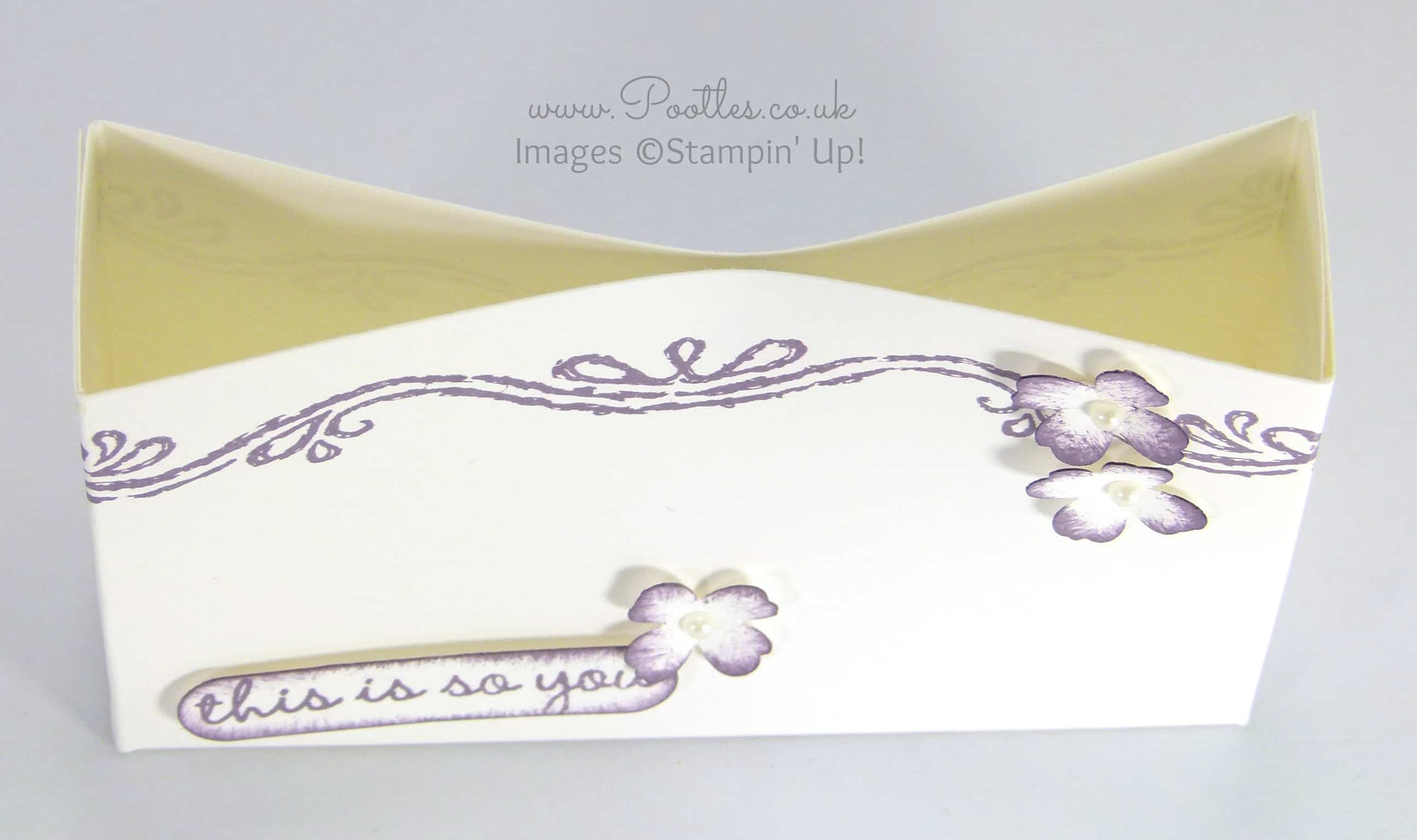 South Hill Designs & Stampin' Up! Sunday Inspire Goodie Bag Tutorial