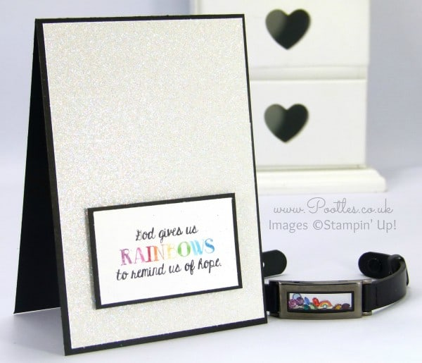 South Hill Designs & Stampin' Up! Sunday Rainbow and Faith Pair