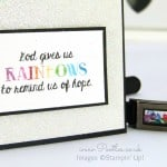 South Hill Designs & Stampin' Up! Sunday Rainbow and Faith