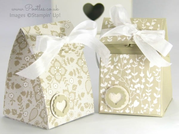 Stampin' Up! Demonstrator Pootles - Fold Over Smooth Domed Bag Tutorial