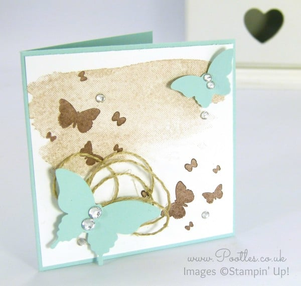 Stampin' Up! Demonstrator Pootles - Perpetual Birthday Butterflies!