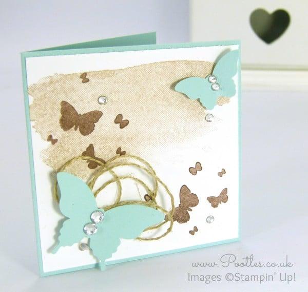 Stampin' Up! Demonstrator Pootles - Perpetual Birthday Butterflies!