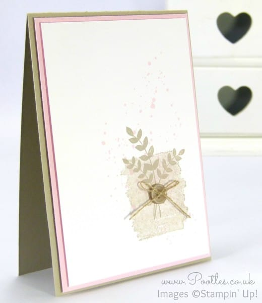 Stampin' Up! Demonstrator Pootles - Sahara Sand meets Pink Pirouette!