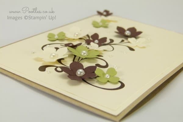 Stampin' Up! UK Demonstrator Pootles - Everything Eleanor Unusually.... side profile