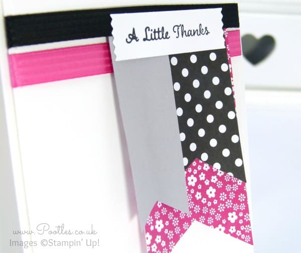 Pootlers Blog Hop - Hot Pink Loveliness! close up