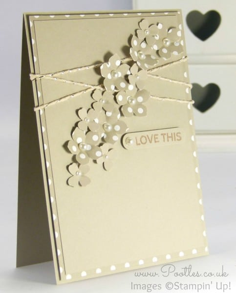Pootles - Spotty Cards using new Stampin' Up! DSP!
