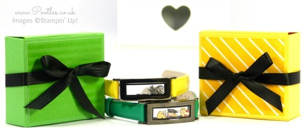 South Hill Designs & Stampin' Up! Sunday Boxed Bracelets