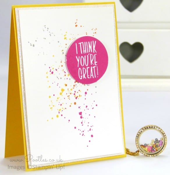 South Hill Designs & Stampin' Up! Sunday Crazy Summer Colours