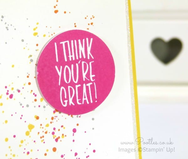 South Hill Designs & Stampin' Up! Sunday Crazy Summer Colours Close Up