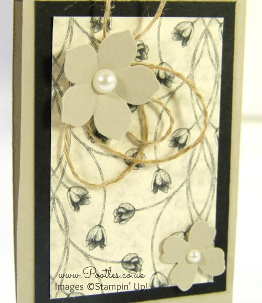 South Hill Designs & Stampin' Up! Sunday Monogram Matchbook Keyrings close up