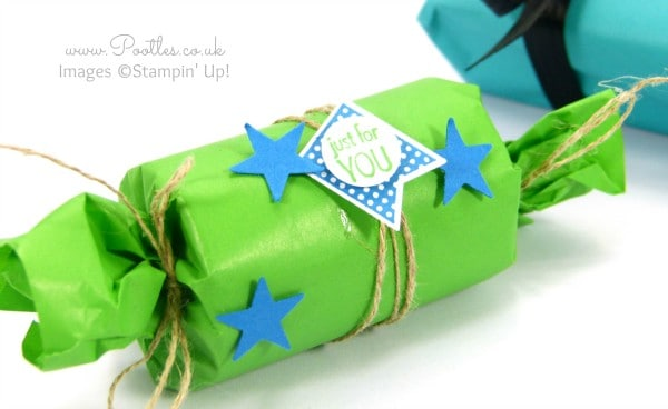 Stampin' Up! Cotton Paper - Strange Stuff... Wrapped Tea Lights