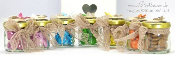 Stampin' Up! Demonstrator Pootles - Adorable Sweetie Jar Favours