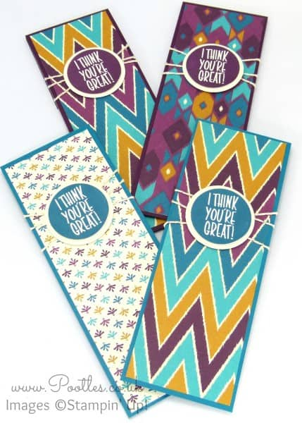 Stampin' Up! Demonstrator Pootles - Bohemian Team Welcome Gifts