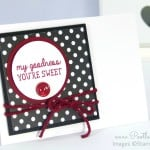 Notecard set using All Boxed Up stamp set from Stampin' Up!