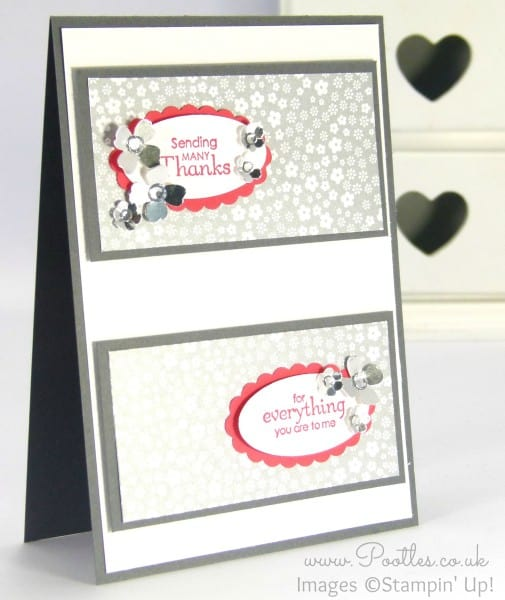 Stampin' Up! Demonstrator Pootles - Petite Pairs meets Stampin' Up! new DSP Stacks
