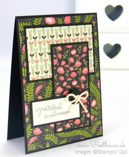 Stampin' Up! Demonstrator Pootles - Pretty Petals Layered Card
