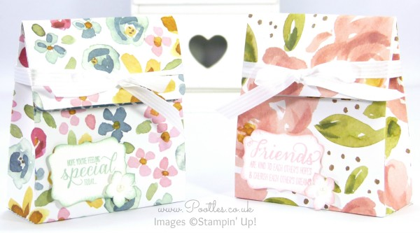 Stampin' Up! UK Demonstrator Pootles - English Garden Bag Tutorial