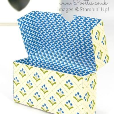 Pootles 6×6 Week #7 Fold Over Box Tutorial