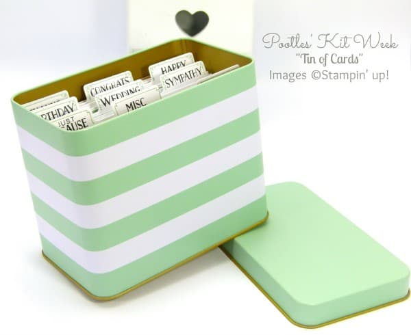 Pootles Kit Week #2 - Tin of Cards Project Kit