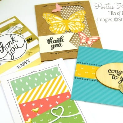 Pootles Kit Week #2 – Tin of Cards Project Kit