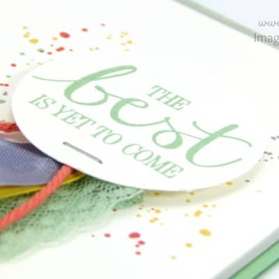 South Hill Designs & Stampin' Up! Best is Yet to Come Card