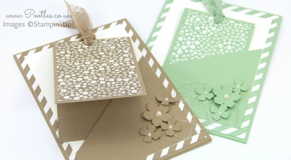 South Hill Designs & Stampin' Up! Sunday Card in a Card Tutorial Cards