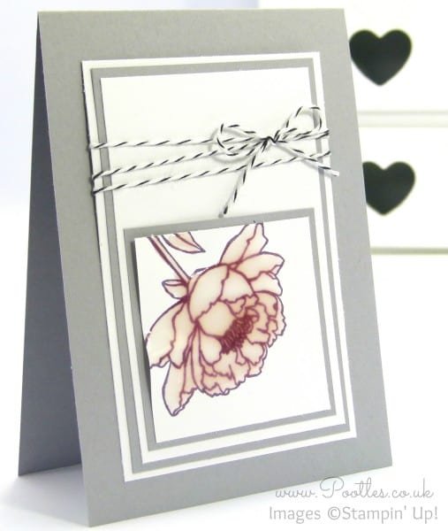 Stampin' Up! Demonstrator Pootles - Crystal Effects You've Got This Card