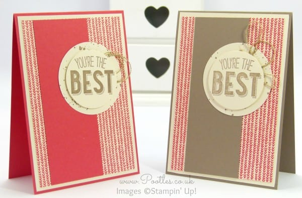 Stampin' Up! Demonstrator Pootles - Friendly Wishes and Sweet Li'l Things - 21 different cards! 6