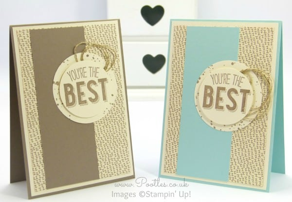 Stampin' Up! Demonstrator Pootles - Friendly Wishes and Sweet Li'l Things - 21 different cards! 7