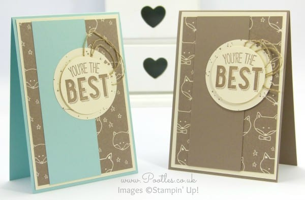 Stampin' Up! Demonstrator Pootles - Friendly Wishes and Sweet Li'l Things - 21 different cards! 8