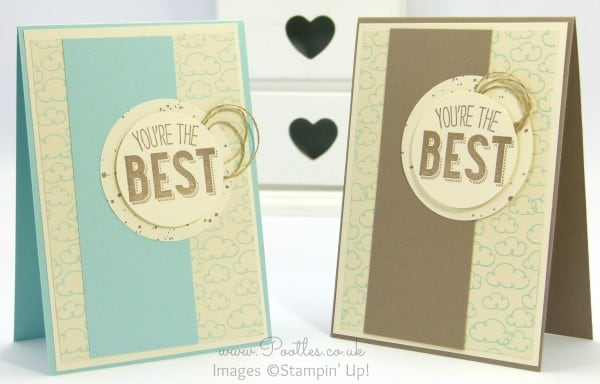 Stampin' Up! Demonstrator Pootles - Friendly Wishes and Sweet Li'l Things - 21 different cards! 9