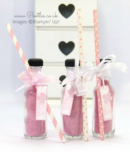 Stampin' Up! Demonstrator Pootles - Sherbet Bottles and Straws!