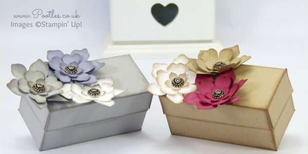 Stampin' Up! Demonstrator Pootles - Softened Floral Box Tutorial