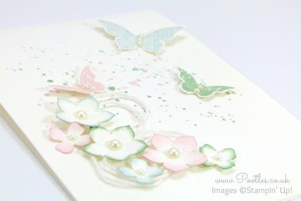 Stampin' Up! Demonstrator Pootles - Thick Cardstock, Butterflies and Flowers 3D