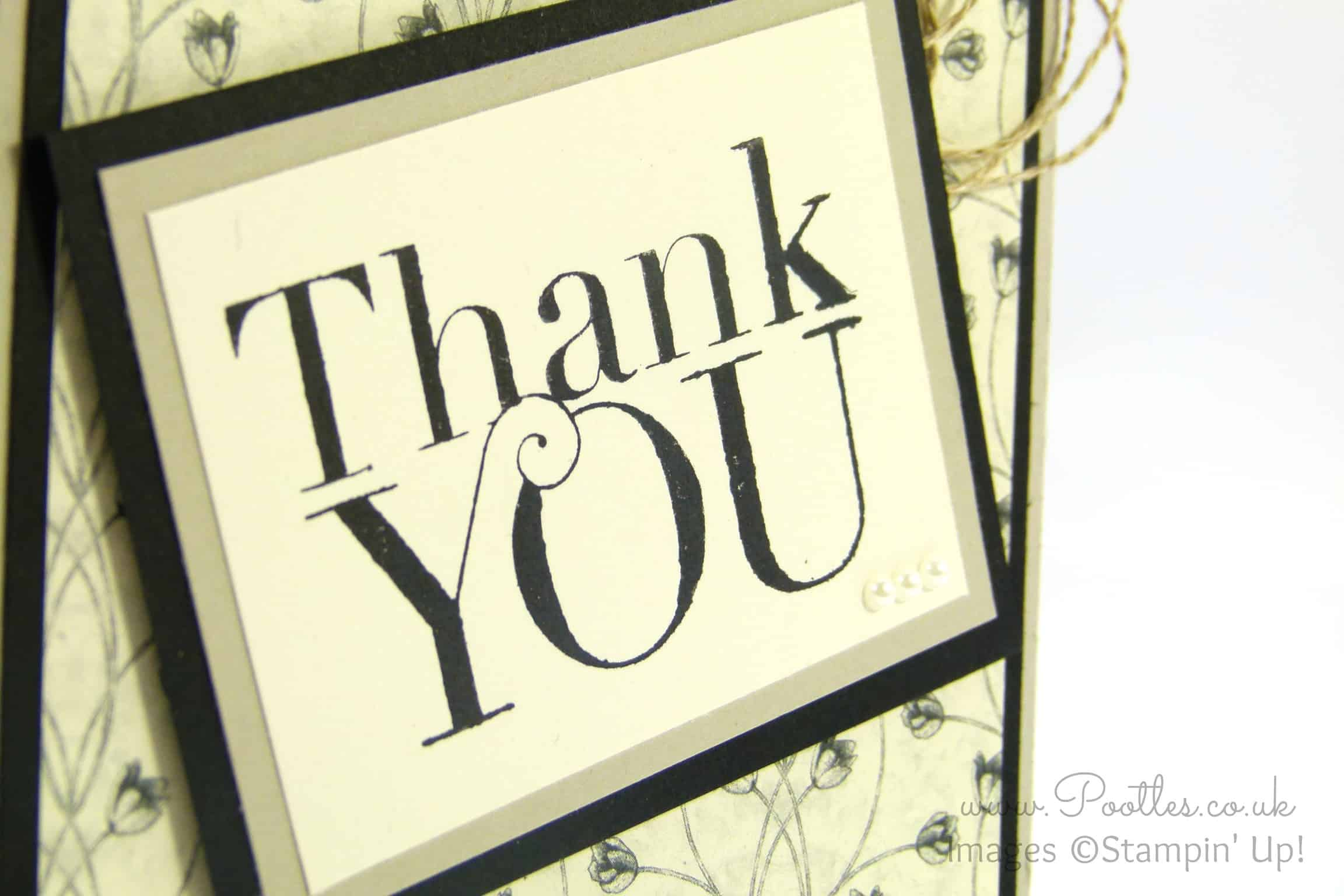 Timeless Elegance Thank You Card