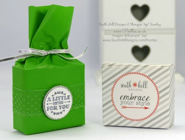 South Hill Designs & Stampin' Up! Sunday Cotton Paper Wrapped Wrist Accessories