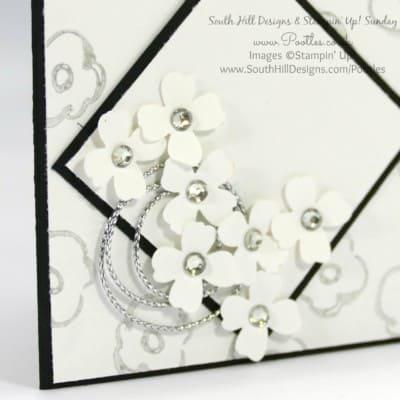South Hill Designs & Stampin' Up! Sunday Diamond Locket Card