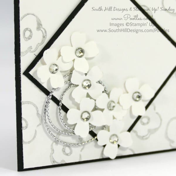 South Hill Designs & Stampin' Up! Sunday Diamond Lockets Card