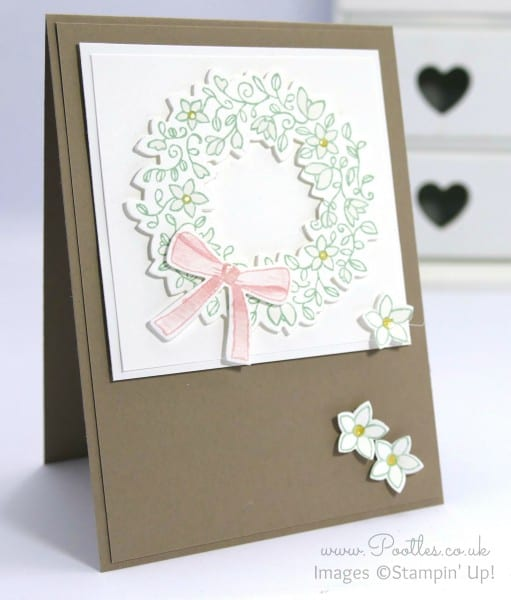 Stampin' Up! Demonstrator Pootles - A Circle of Spring in a Wonderful Wreath