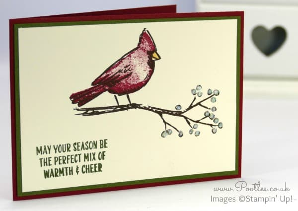 Stampin' Up! Demonstrator Pootles - A Joyful Season Cardinal